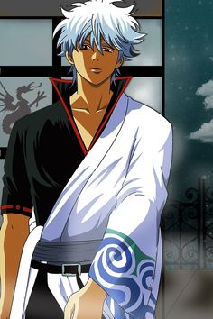 Gintama ~~ What did you say? Short Silver Hair, Manga Anime, True Art, Manga Characters, Manga Pictures, Manga Games, Anime Shows, Japanese Art, Hot Guys