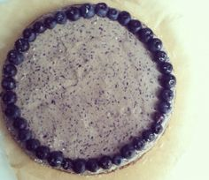 Raw Vegan Blueberry Cheescake