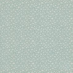 Small Baby Blue Flowers Vintage Wallpaper | 1950s Vintage Antique Wallpaper