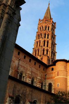 Basilique Saint-Sernin, Toulouse, Midi-Pyrénées, Zuid-Frankrijk