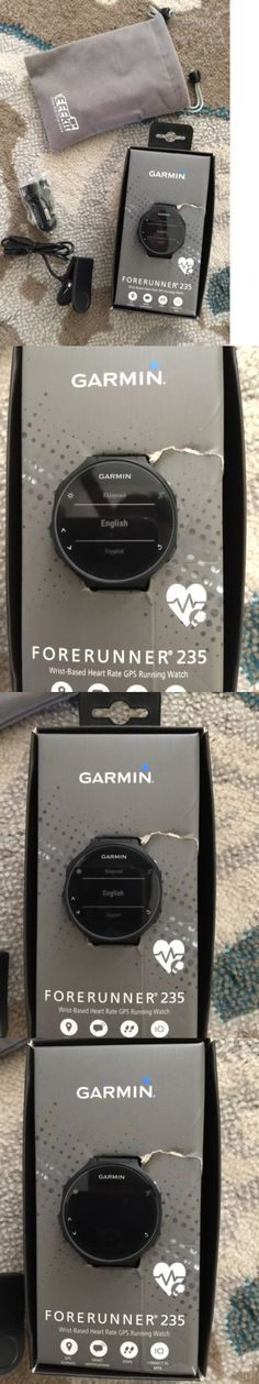 GPS and Running Watches 75230: Garmin Forerunner 235 Gps Running Watch W Wrist-Based Hrm Monitor - Black Gray -> BUY IT NOW ONLY: $229 on eBay!