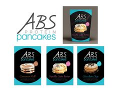 Cinnamon Swirl, Chocolate Chip, Vanilla Cake Batter ABS Protein Pancakes!!!  www.ABSProteinPancakes.com   Gluten Free. NON GMO. Low Carb. Low Sugar. High Protein. Under 250 Calories for 4 Pancakes!