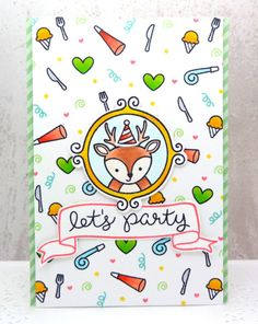 Designed by: Annette Allen Using: Lawn Fawn  for more info check out my blog.. myclevercreations.blogspot.com/2015/06/party.html