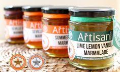 1 gold star - Great Taste Awards 2013 - Lime Lemon Vanilla marmalade