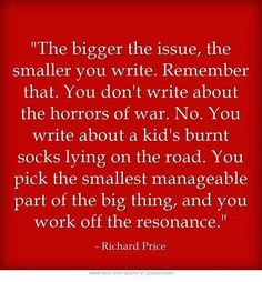 Writing small: