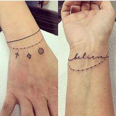 wrist tats
