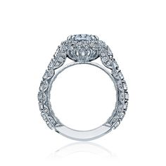 New Tacori engagement ring from Royal T collection! #tacori #engagement_ring #diamonds