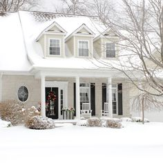 The Yellow Cape Cod: Christmas Home Tour 2014