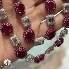 #RepostSave @karensuenfinejewellery with @repostsaveapp · · ·  @karen.suen Ruby delights with this passionate and sensual Ruby and Diamond necklace from the bespoke collection! #KarenSuenFineJewellery #Designer #BespokeJewels #PreciousStones #Design #FineJewelry #JewelleryDesigner #ColorGemstone #HauteJoaillerie #UniqueJewellery #Gemstone #Diamond #Paraiba #Tourmaline #HongKong #Indonesia #Malaysia #KualaLumpur #Jakarta #Moscow #Kuwait #Qatar #Doha #Bahrain