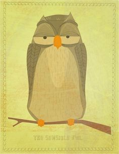 The Sensible Owl by John Golden
