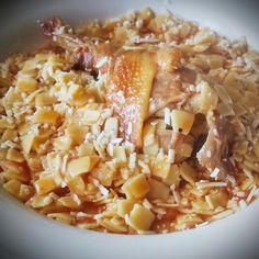 Risotto, Rice, Chicken, Ethnic Recipes, Food, Essen, Meals, Yemek, Laughter