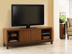Intrepid Entertainment Console by Tommy Bahama Home - Home Gallery Stores