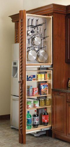 "Rev-A-Shelf RS434.TF39.6SS 38.5 in. H Tall Filler for Left Hanging Storage by Rev-A-Shelf. $297.22. Filler organizers for handing storage.Left handed.Units glide on 150 lb heavy duty full extension slides.The solid construction consists of 1/2"" maple.Each unit features adjustable shelves.RS432.TF39.6C comes with 5 shelves.RS432.TF45.6C comes with 6 shelves.Door mount brackets provide 5"" of side to side adjustment to ensure that screws mount into door stiles.Included mendin..."