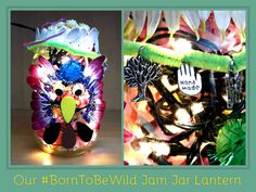The Hart of the Munchkin Patch: Crafting with 'Born to be Wild' and Bloomsbury Books #BorntobeWild #kidscrafts #freenatureactivities #RSPB