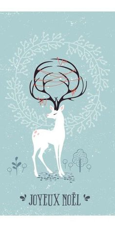 Joyeux Noël à tous ! | Une carte de vœux DIY en transfert sur bois à faire soi-même avec une illustration à télécharger et imprimer pour Noël. :hearts: #epinglercpartager
