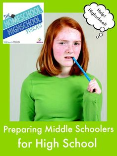 HSHSP Ep 66: Preparing Middle Schoolers for High School. What skills to homeschool middle schoolers need in order to be ready for high school?