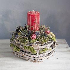 Christmas ideas, natur candleholder Christmas Ideas, Christmas Decorations, Table Decorations, Candle Holders, Home Decor, Decoration Home, Room Decor, Porta Velas, Home Interior Design