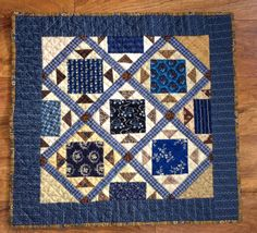 Humble Quilts: MidWinter Blues Link-Up! Edited Version