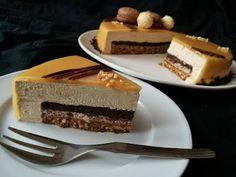 TORTA MOUSSE AL MASCARPONE E CAFFÈ - Maria Rosaria Sciotti Mini Desserts, Just Desserts, Sweet Recipes, Cake Recipes, Modern Cakes, Bakery, Sweets, Chocolate, Eat