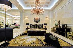 Il Lusso ha un nome   Versace Casa Versace Design Home   Il lusso italiano- dentro le mura domestiche.  #Idee Living Lussuose proposte per la casa di #Versace Vedi piu articoli - http://www.spazidilusso.it/
