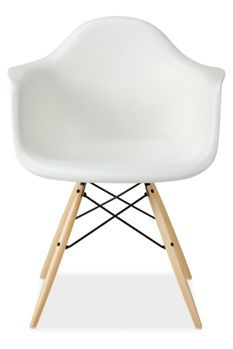 Eames Molded armchair by Herman Miller for dining room. Just finally orders these in black!! Can't wait!