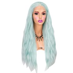 Heat safe synthetic Lace Front wig long density Made of soft synthetic fiber Can be styled with hot […] Synthetic Lace Front Wigs, Synthetic Wigs, Powder Room D, Paddle Brush, How To Apply Concealer, Aesthetic Hair, Hot Tools, One Hair, Light Hair