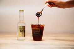 Say Hello to Cold Brew Tonic, the Fizzy Coffee Drink Keeping Us Cool photo