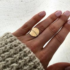 These rings are handmade by the designer herself in her Portland, OR studio. * ULTRA THIN RINGS * These ultra thin rings mix together beautifully! The contrast between hammered and lined textures is incredibly eye-catching. These stacking rings are per Engagement Ring Settings, Vintage Engagement Rings, Vintage Rings, Jewelry Rings, Fine Jewelry, Jewlery, Etsy Jewelry, Mom Jewelry, Tiffany Jewelry
