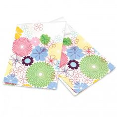 Pimpernel Crazy Daisy Tea Towel