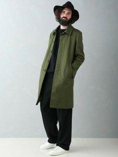 UNITED TOKYO EC | <OFFICIAL>UNITED TOKYO MENSさんのステンカラーコート「UNITED TOKYO ギャバステンコート」を使ったコーディネート