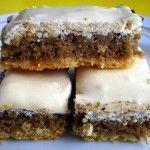 Orechové rezy so snehom - NajRecept.sk - My site Tiramisu, Rum, Ethnic Recipes, Food, Basket, Meals, Meal, Eten, Tiramisu Cake