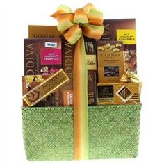 "@GODIVA Milk Chocolate Gift Basket.Enter keyword ""GODIVA"" in #findproducts box"