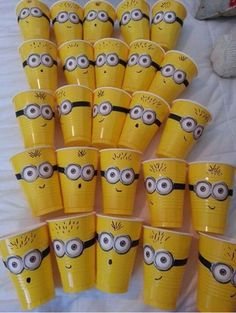 Impress people with this ULTIMATE Minion Party Ideas guide. Useful for minion birthday party.More than ideas for now (Article updated frequently) Minion Party, Despicable Me Party, Minion Theme, Minion Birthday, Despicable Minions, 6th Birthday Parties, Birthday Fun, Birthday Ideas, Minion Baby Shower