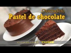 Pastel chocoadictos. El mejor pastel de chocolate.