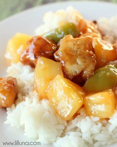 Sweet and Sour Chicken recipe - AMAZING!