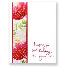 Such a pretty way to use reverse sillouhette stamp. A little clear embossing and sponging--so pretty!