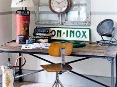 Você que curte o estilo industrial não perca essas dicas de como fazer móveis com canos de ferro. Show!!!