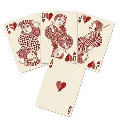Jeu de cartes - Edition Royal Optik Rouge | JALOUSE | SPOOTNIK