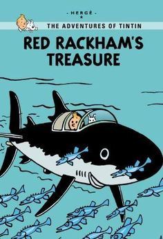 Red Rackhams Treasure Adventures of Tintin