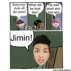 Rap Monster's Jams XD. OMG I can't stop laughing!