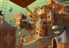 Zenobia- Invisible Cities by Jar-of-Jam