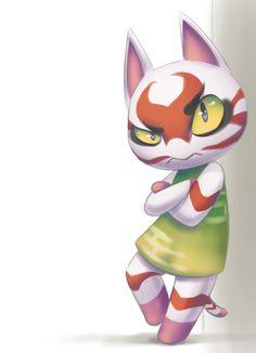Kabuki Animal Crossing Fan Art, Animal Crossing Characters, Ac New Leaf, Nintendo Games, Chibi, Tiffany, Video Games, Gaming, Things To Come