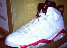 "Air Jordan 6 Retro ""White Infrared"" (2014 Release Info)"