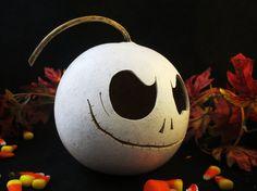Halloween Gourd Spooky Casper Pumpki Trick or by KaoriKreations, $23.00