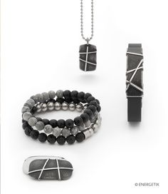 Exclusively designed magnetic jewellery by ENERGETIX. Fashionable bracelets, necklaces, rings and earrings. Discover wellness at its most beautiful. Magnetic Necklace, Massage Tools, Neodymium Magnets, Visual Effects, Men Necklace, Designs To Draw, Fashion Bracelets, Most Beautiful, Jewelry Design