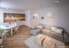 Kitchen Room Design, Home Room Design, Modern Kitchen Design, Interior Design Kitchen, Living Room Designs, Small Apartment Interior, Condo Interior, Living Room Interior, Home Living Room