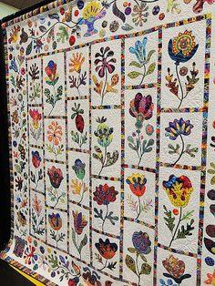 Pacific International Quilt Festival 14 Beautiful work by Teresa Marler