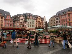 Mainz, Germany. Home of the first printing press where the Gutenberg Bible was printed.