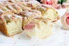 NAJLEPSZE CIASTO UCIERANE Z RABARBAREM Vanilla Cake, Evergreen, Pastries, Food, Tart, Tarts, Essen, Meals, Yemek