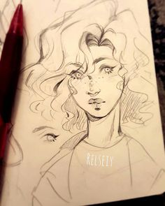 Relsey- Pandastrophic (old username) ☆Character designs-sketches-illustration . Cartoon Kunst, Cartoon Art, Art And Illustration, Pretty Art, Cute Art, Cool Drawings, Drawing Sketches, Drawing Eyes, Character Drawing